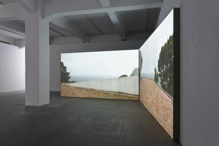 Peter Welz, 'casa malaparte [curved wall   double]', 2014