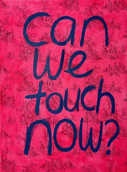 Ayse Wilson, 'Can we touch now?', 2021