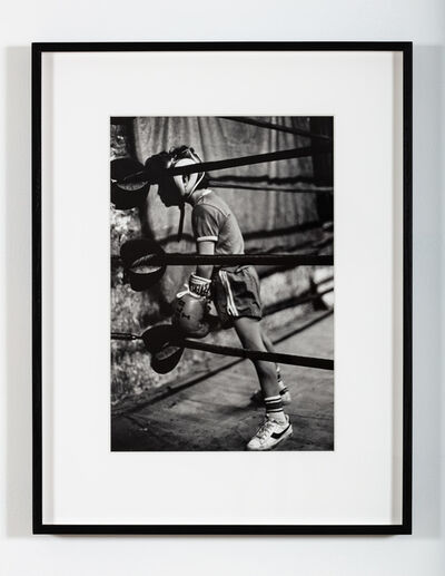 """Martine Barrat, '""""You can't be tired. You are going to win"""" (Harlem)', 1981"""