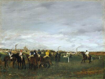 Edgar Degas, 'The Races', 1871-1872