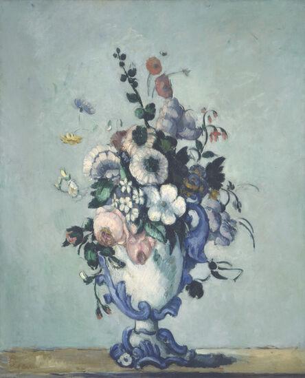 Paul Cézanne, 'Flowers in a Rococo Vase', ca. 1876