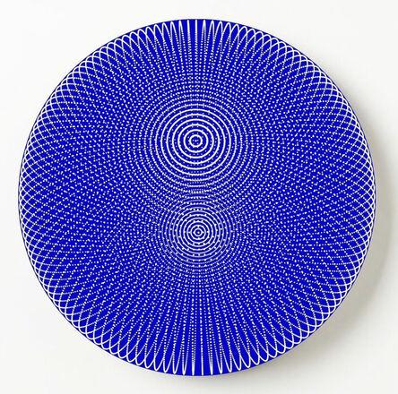 John Zoller, 'John Zoller, Translucent Blue Orb', 2020