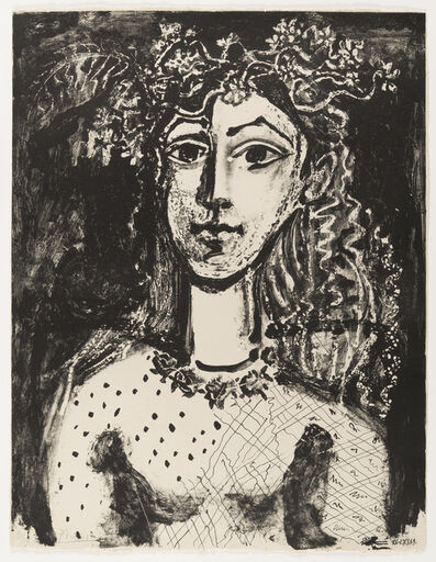 Pablo Picasso, 'Young Girl Inspired by Cranach', 1949
