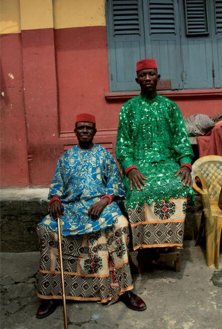Stephen Tayo, 'Chuka and Dad, Lagos, Nigeria', 2018
