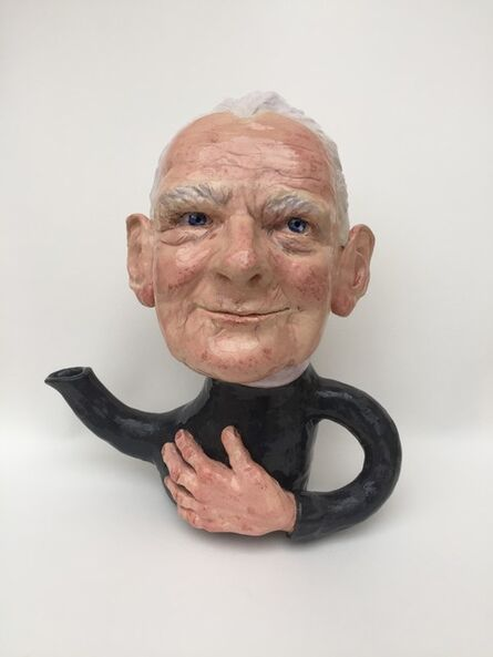 Wendy Mayer, 'Teapot with Old Man', 2019