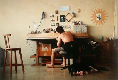 David Nipo, 'Portrait of a Craftsman, The Workshop', 2001
