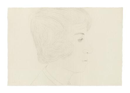 Alex Katz, 'Profile of Vincent', 1974