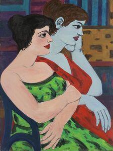 Pompeo Borra, 'Colloquio', 1955