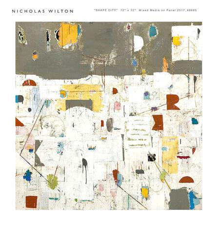 Nicholas Wilton, 'Shape City', 2018