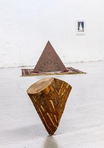 """Alberto Peral, 'INSTALACIÓN PARA LA MUESTRA """"ATELIER DE BARCELONE"""", L.A.C., NARBONNE', 2013"""