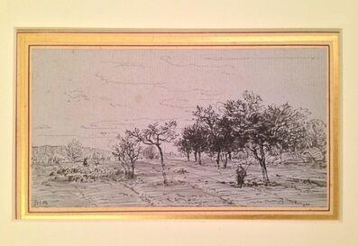 Théodore Rousseau, 'La Plaine a Chailly', ca. 1860