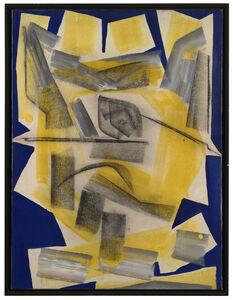 Herbert Zangs, 'BULS I, Charcoal-Paintings', 1957-1958