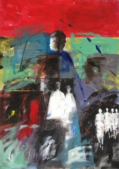 George Masarira, 'Walks of life', 2018