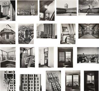 Giorgio Vasari, 'Twenty photographs of the Torre Velasca, Milan', 1956-1958