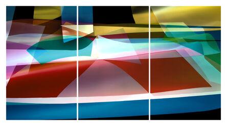 Arturo Aguiar, 'Light form 9637, triptych', 2019