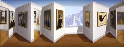 Patrick Hughes, 'Marvellous Magritte', 2014