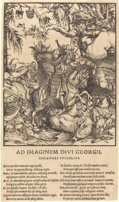 Lucas Cranach the Elder, 'Saint George and the Dragon'
