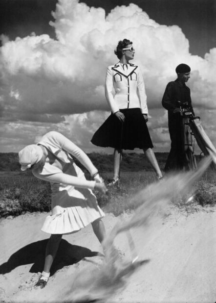 Norman Parkinson, 'Golfing at Le Touquet, France, Harper's Bazaar', 1939