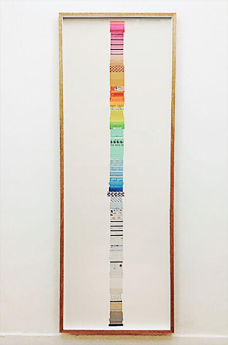 Reyes Santiago Rojas, 'Columna de papel'