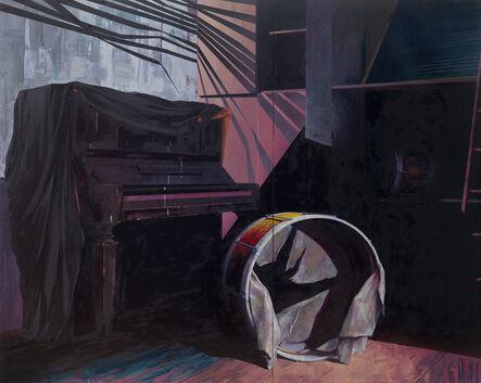 Katrin Brause a.k.a. Heichel, 'Musikzimmer', 2016