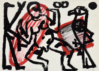 A.R. Penck, 'Adler und Tänzer 2', 1982