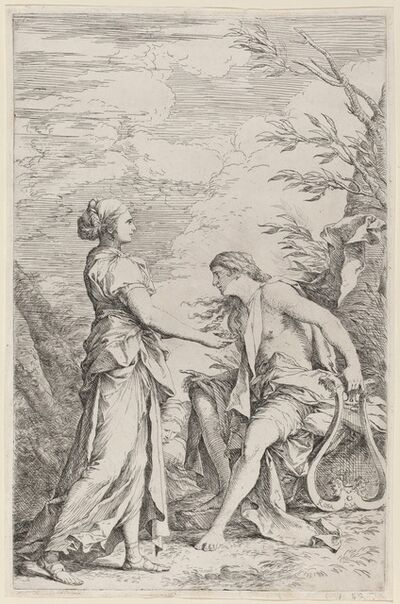 Salvator Rosa, 'Apollo and the Cumaean Sibyl', ca. 1661