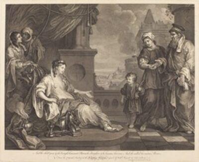 William Hogarth and Luke Sullivan, 'Moses Brought to Pharaoh's Daughter', 1752