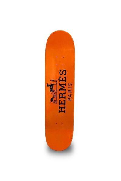 Julie Jaler, 'Skate HERMES Orange', 2020