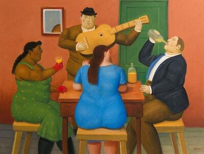 Fernando Botero, 'People Drinking', 2015
