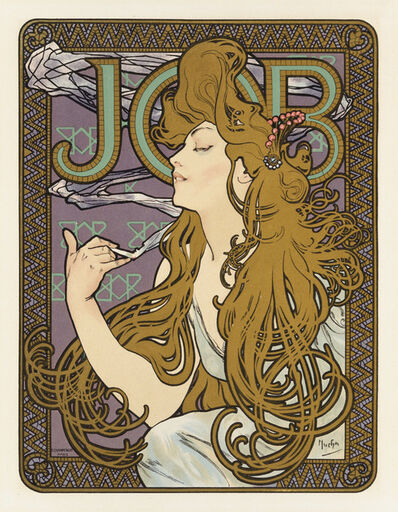 Alphonse Mucha, 'Job', 1900
