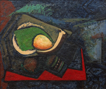 Alfred H. Maurer, 'Cubist Still Life with Pear', ca. 1930