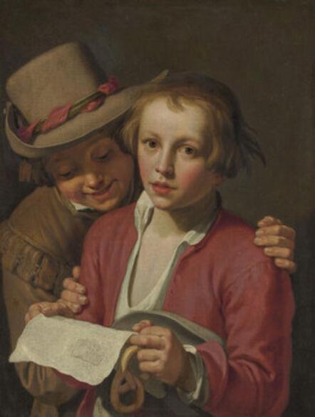 Abraham Bloemaert, 'Two boys singing', Likely ca. 1625