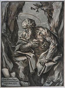 Bartolomeo Coriolano after Guido Reni, 'St Jerome in the Desert', 1637