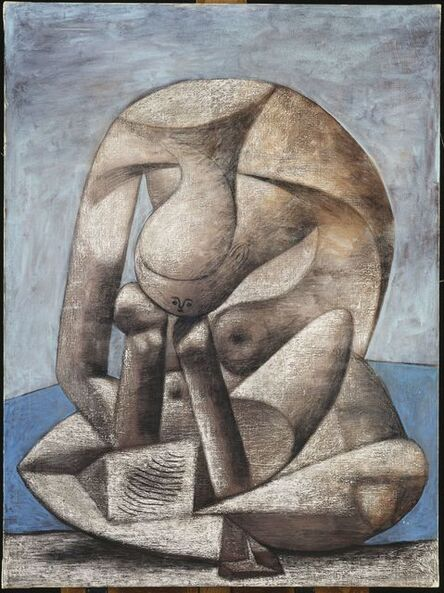 Pablo Picasso, 'Grande Baigneuse au livre (Large bather with a book)', 1937