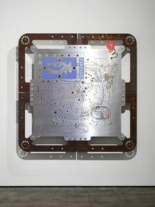 Mariechen Danz, 'Ore Orientation: modular mapping system (Plate 2: cosmos flat)', 2017