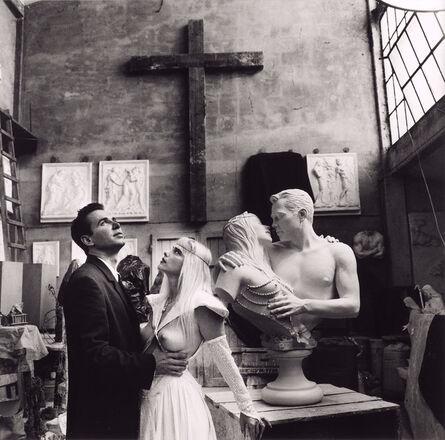 Helmut Newton, 'Jeff Koons & Cicciolina, Italy', 1991