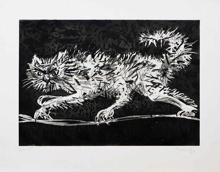 William Kentridge, 'Another Cat', 2020