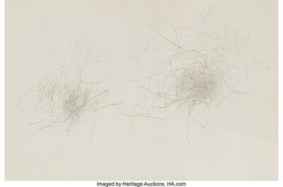 William Anastasi, 'Untitled (Subway drawing)', 1984