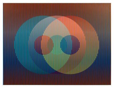 Carlos Cruz-Diez, 'Color Aditivo Panam Círculos 7', 2010