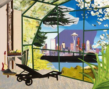 Dexter Dalwood, 'Kurt Cobain's Greenhouse', 2000
