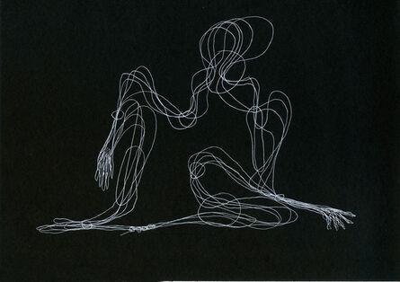 Tatiana Grinberg, 'distancia recoberta_ensaio_partitura_dr_corte_G [E]', 2014