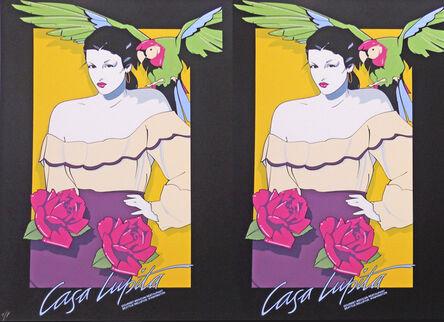 Patrick Nagel, 'Casa Lupita _ Rare Double Print Edition', 1978