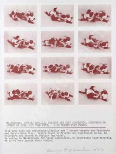 Dennis Oppenheim, 'Go Beteween', 1977