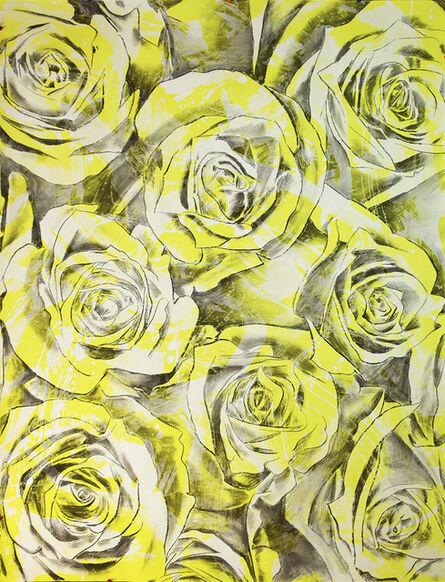 John Newsom, 'Everlasting Bloom (Titanium Yellow)', 2017