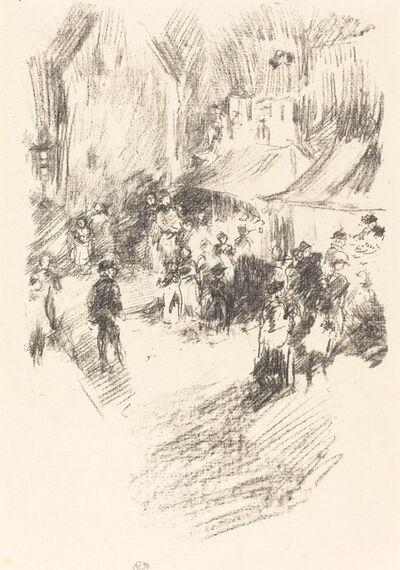 James Abbott McNeill Whistler, 'The Fair', 1895