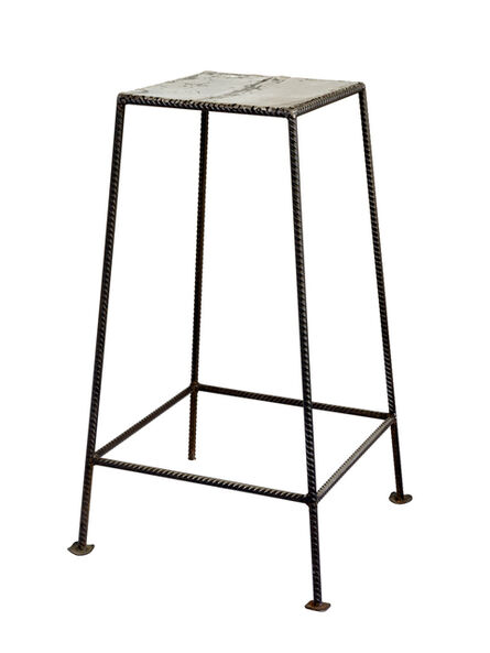 Filipe Branquinho, 'Untitled 04, Banco de metal (Metal stool)', 2020