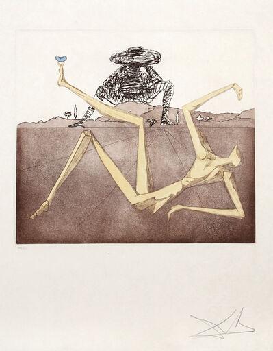 Salvador Dalí, 'The Heart of Madness from Historia de Don Quichote de la Mancha', 1980
