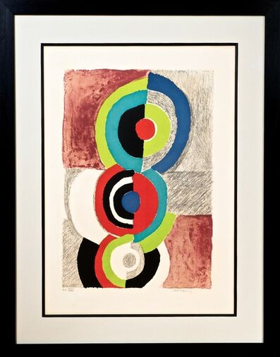 Sonia Delaunay, 'Composition with Circles', c. 1968