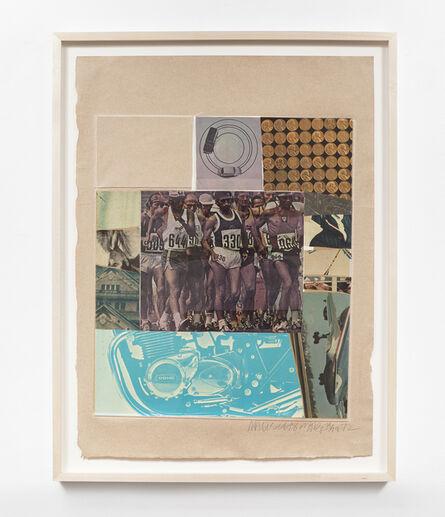 Robert Rauschenberg, 'Horsefeathers Thirteen-VIII', 1972