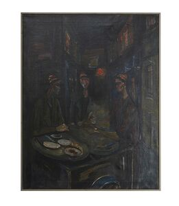 Mahmoud Sabri, 'The Parsnip Seller', 1950